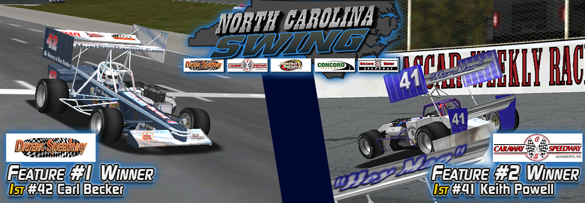 SUPRS North Carolina Swing Night 1 Winners Carl Becker, Keith Powell (SUPRS)