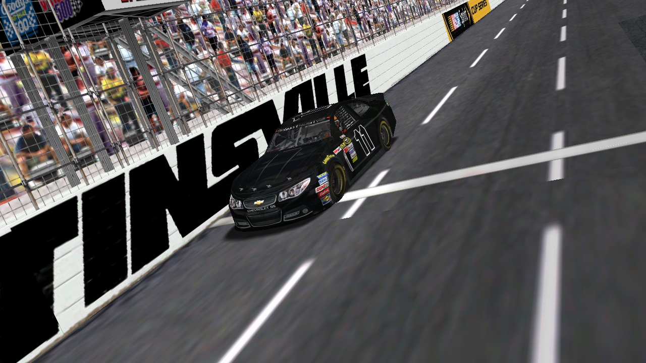 Speedyman11 takes the checkered flag at the Martinsville 140 Patch Cup Series race