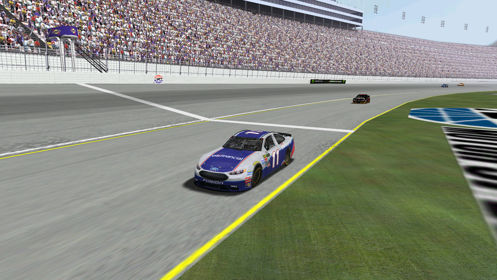 Speedyman11 wins his 38th Patch Cup victory with lepage71 following. (Credit: DusterLag / HeatFinder)