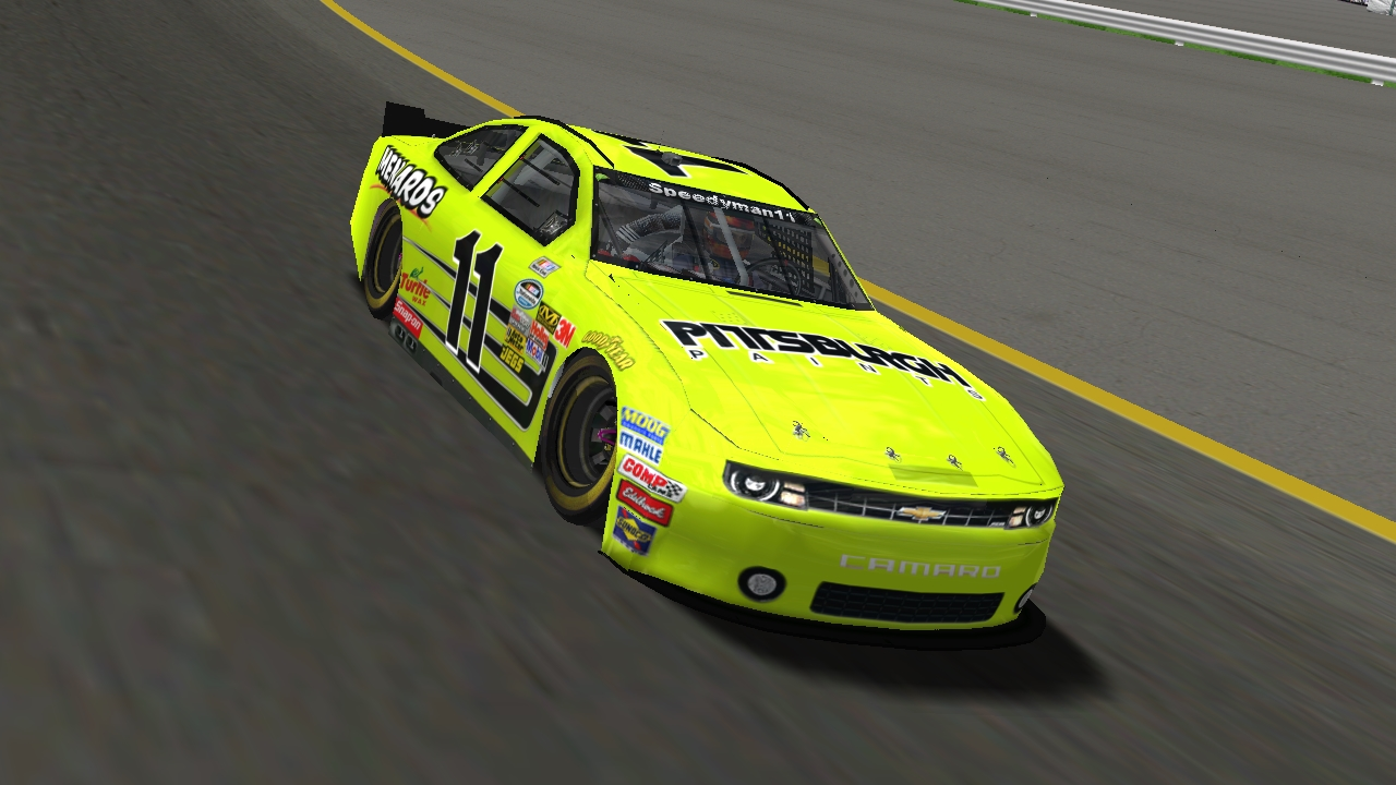 Speedyman11 on the track at Pocono Raceway (Credit: KartRacer63 / HeatFinder)