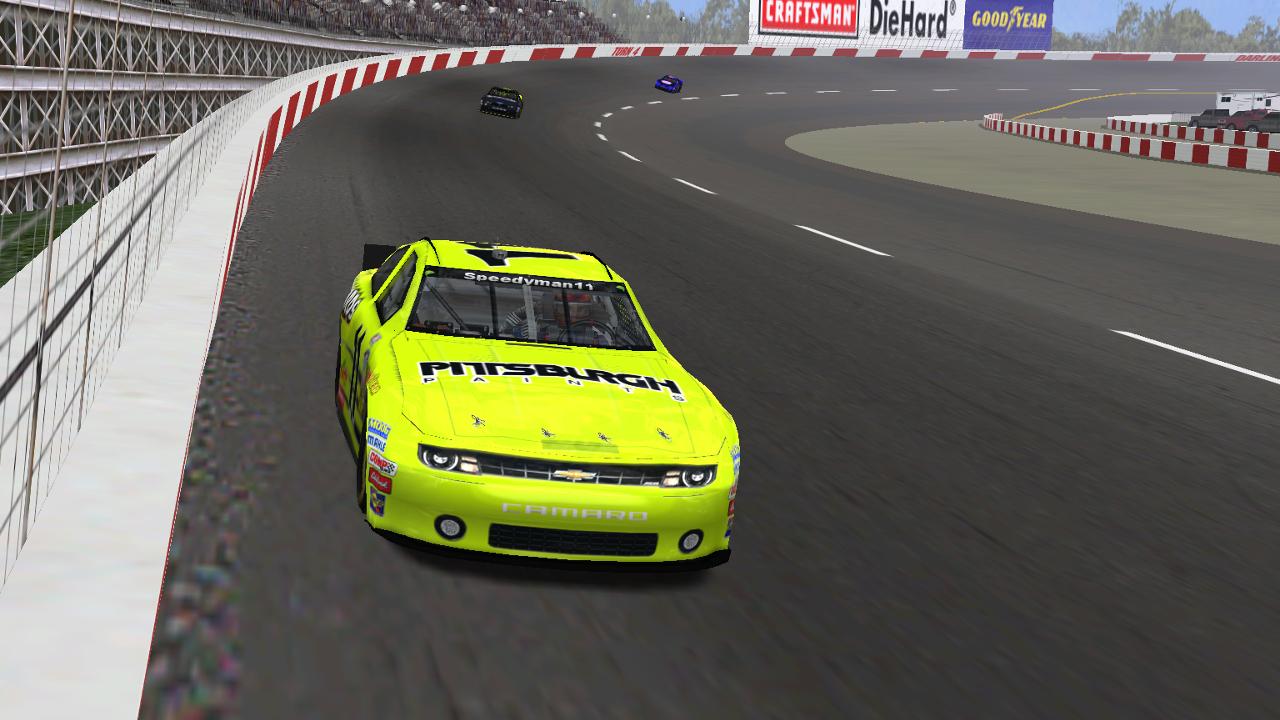 Speedyman11 Captures Darlington Raceway Museum 70 Victory (Credit: DusterLag / HeatFinder)