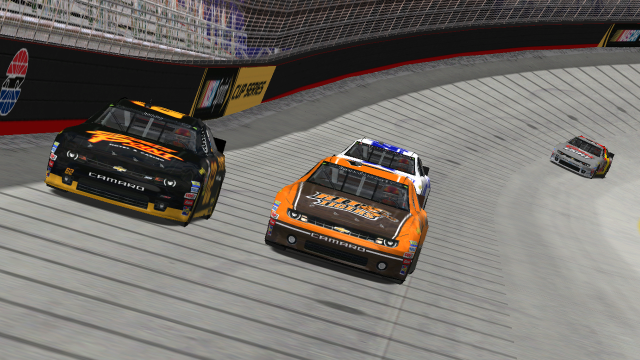 Speedyman11 laps with Breeze at Bristol Motor Speedway with Rookiesrock in tow