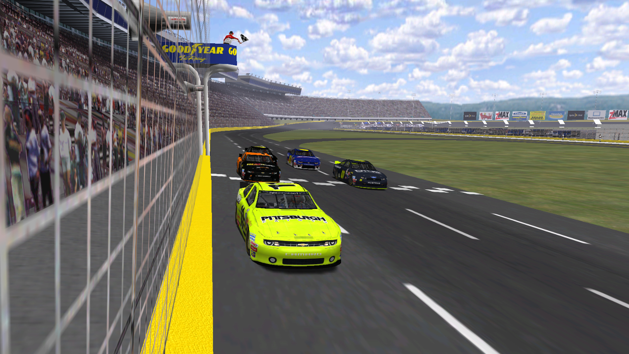 Speedyman11 takes the checkered flag with DusterLag, Donaldson and KartRacer63 following (Credit: DusterLag / HeatFinder)
