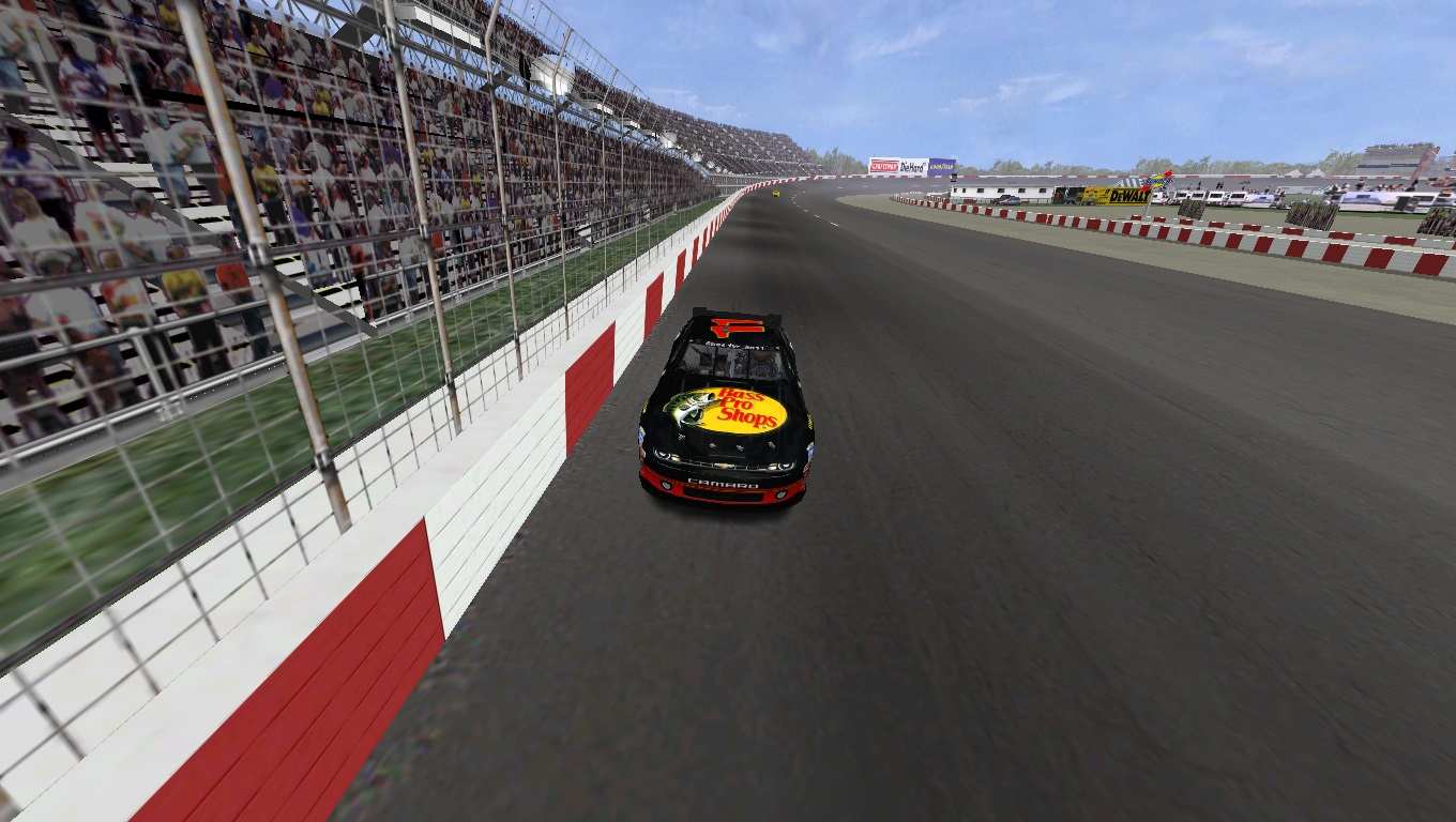 Speedyman11 at Darlington Raceway. (Credit: DusterLag / HeatFinder)