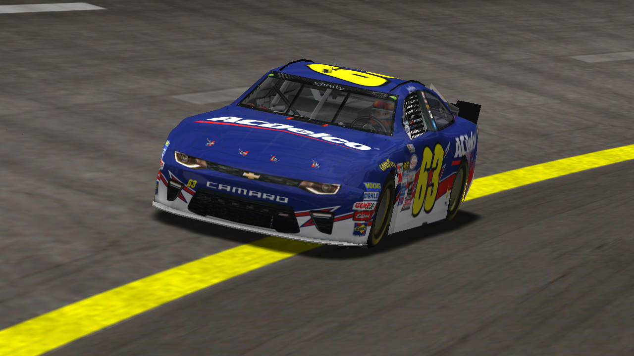 KartRacer63 racing at Richmond Speedway. (Credit: DusterLag / HeatFinder)
