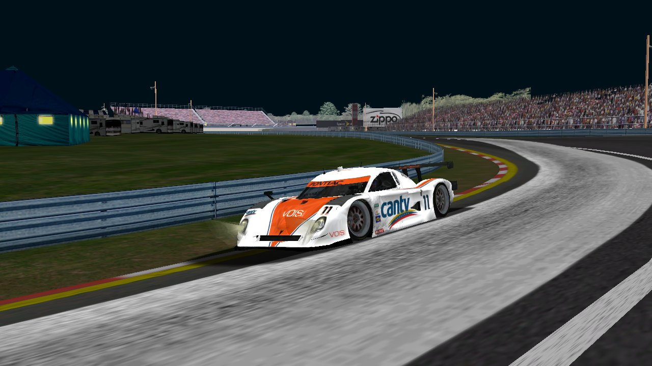 Speedyman11 during the race at Watkins Glen (Credit: Grumpy / HeatFinder)