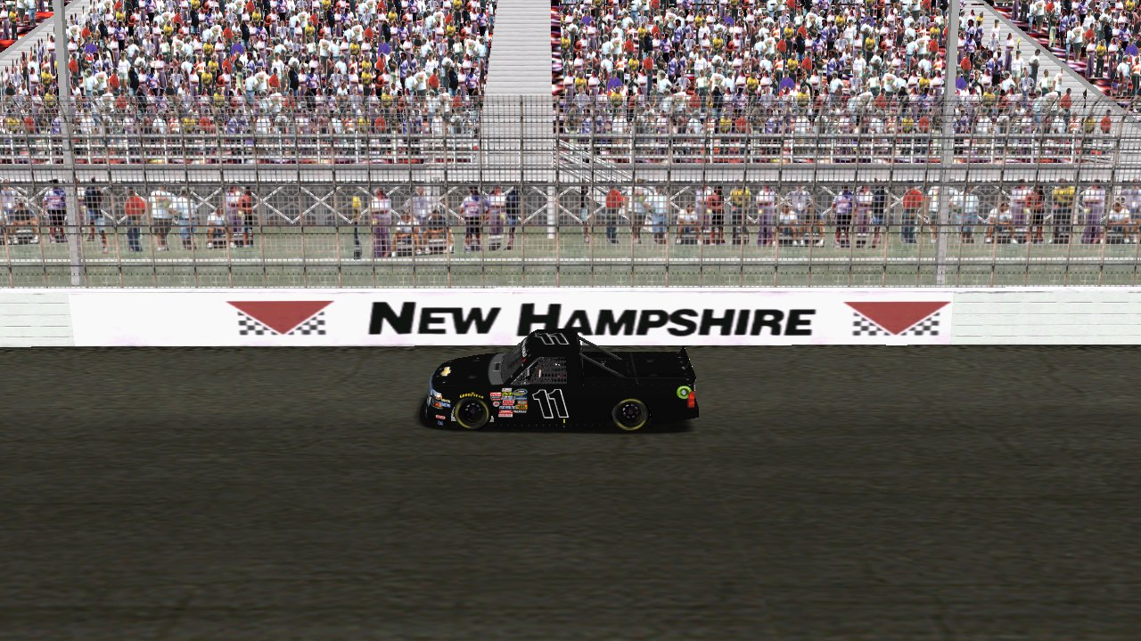 Speedyman11 at New Hampshire Motor Speedway. (Grumpy / HeatFinder)