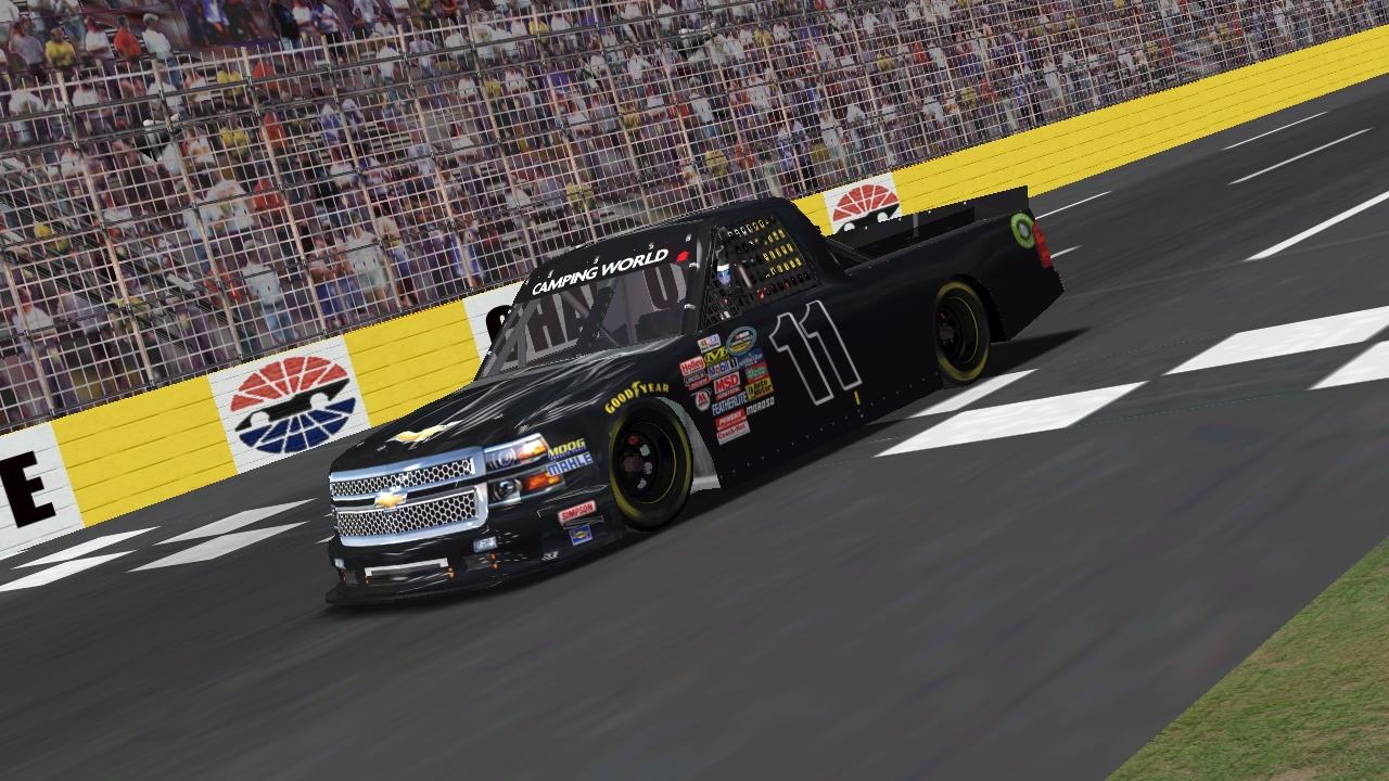 Speedyman11 Captures GR8-1 Truck Series Win #3 During Carolina Thunder 90 (Credit: KartRacer63 / HeatFinder)