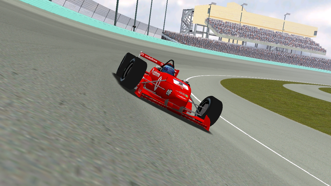 KartRacer63 on the track at Homestead-Miami Speedway