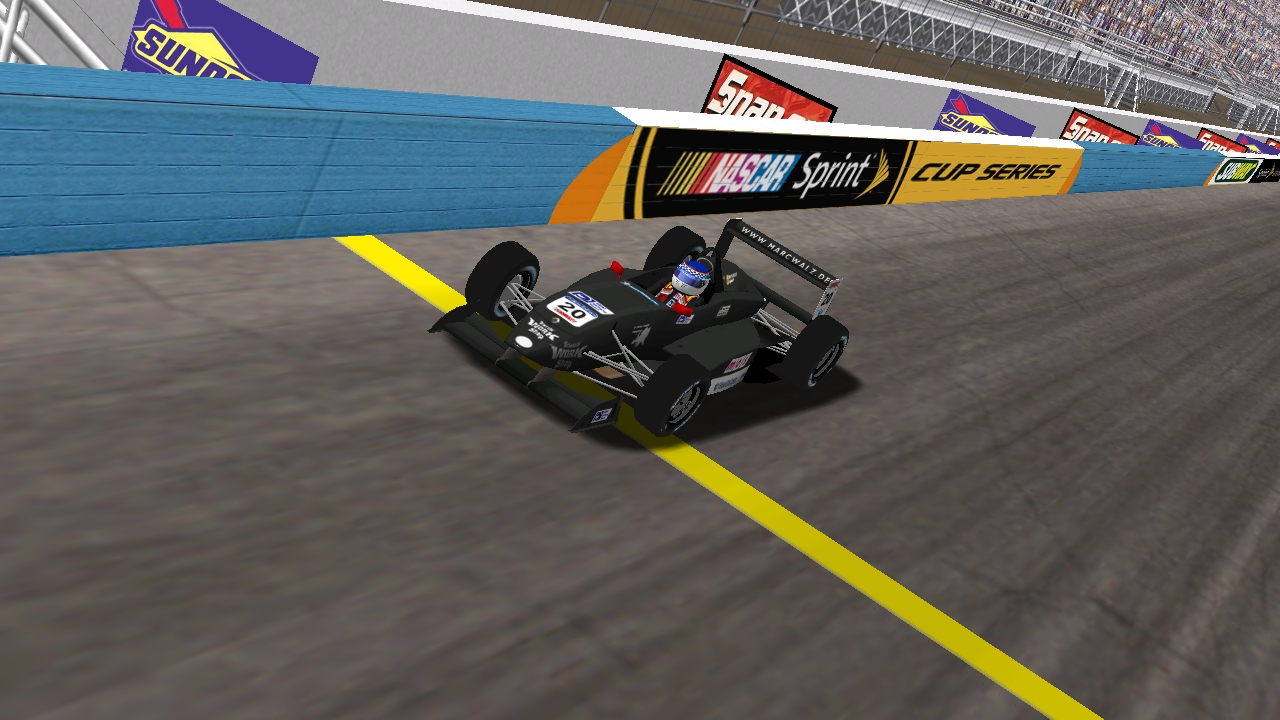 Speedyman11 captures the win at the Phoenix 40 on Wednesday night.