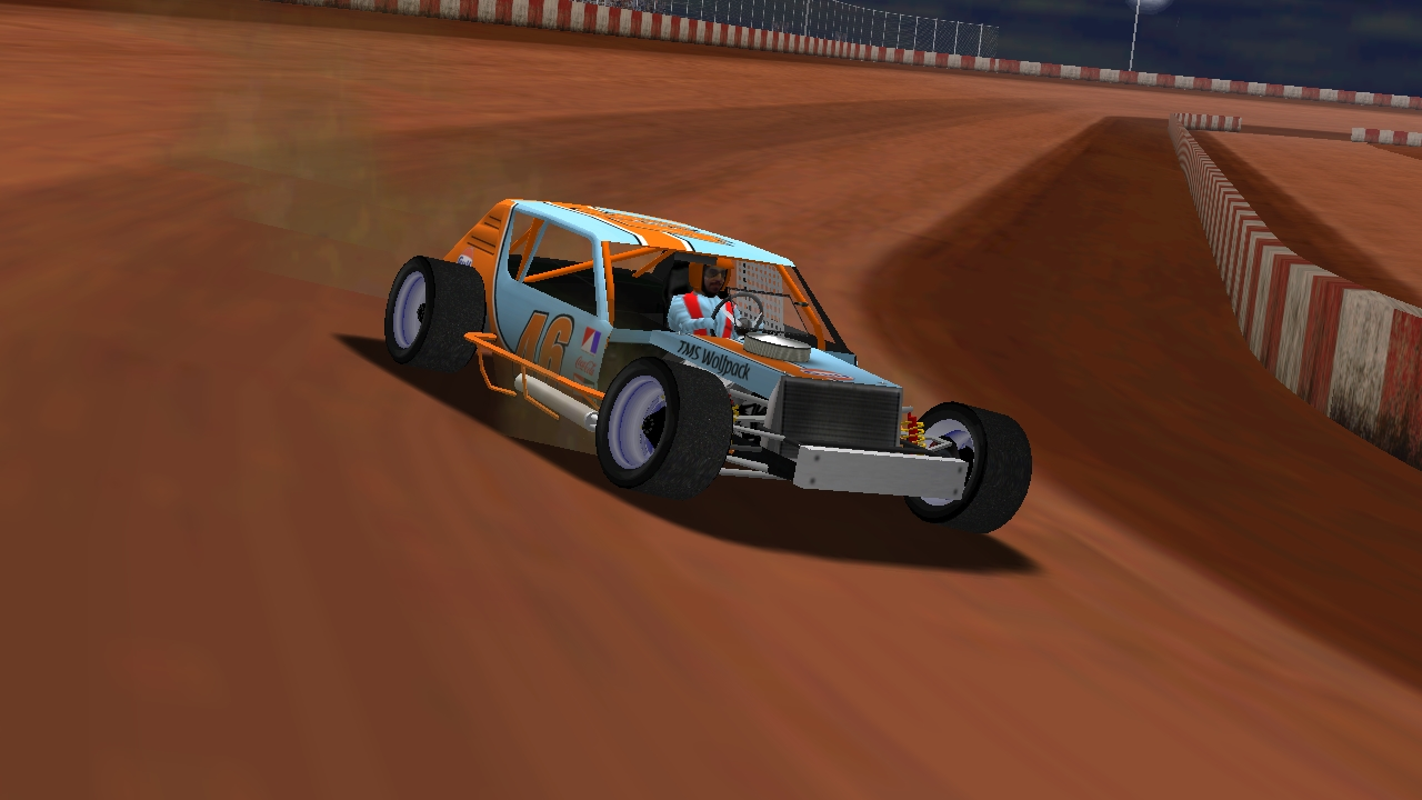 puttzracer captures the feature win at SCUOR Speedway
