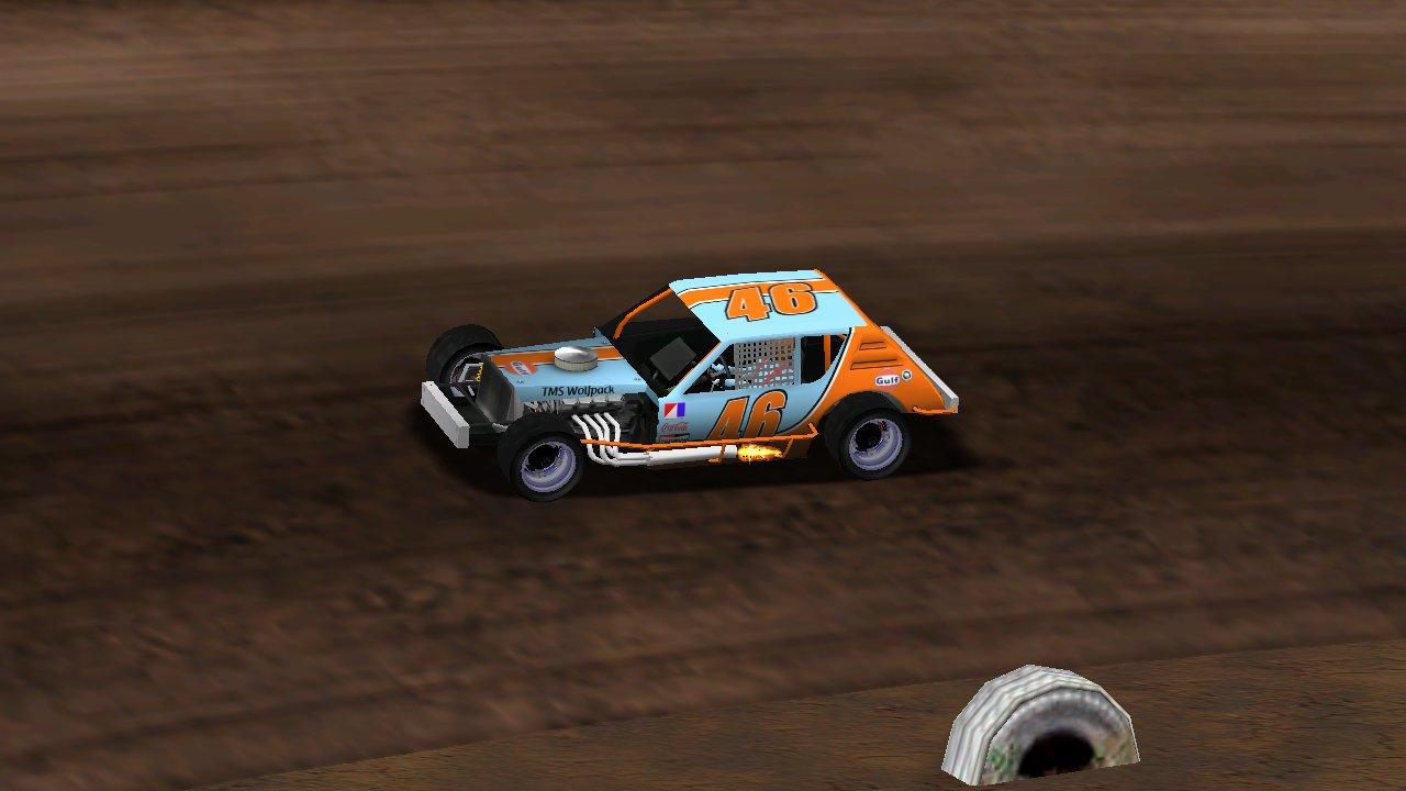 puttzracer on track at The Bullring (Credit: KartRacer63 / HeatFinder)