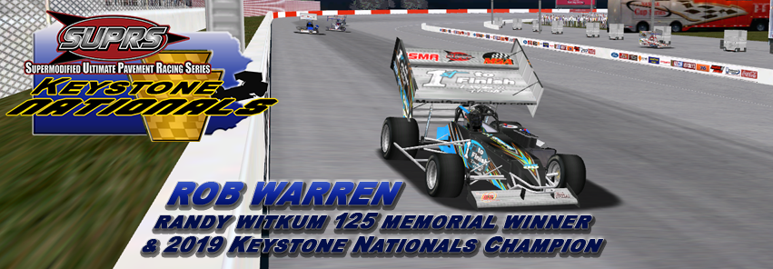Fourth Witkum Memorial Win for Warren Makes SUPRS History